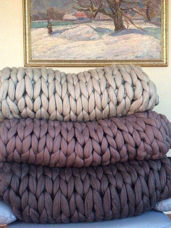 Chunky Stricken Decke Arm Stricken Decke Riesige Strickte Decke
