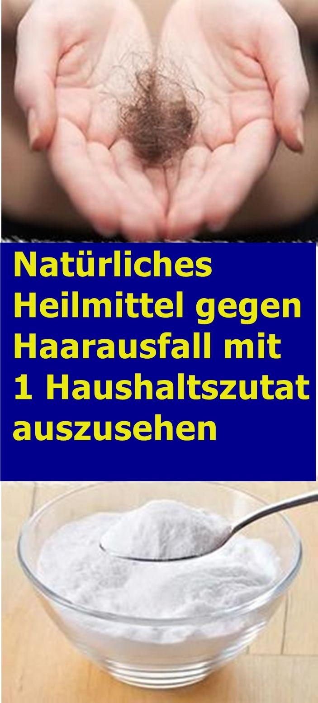 Natürliches Heilmittel gegen Haarausfall mit 1 Haushaltszutat | isfurano!