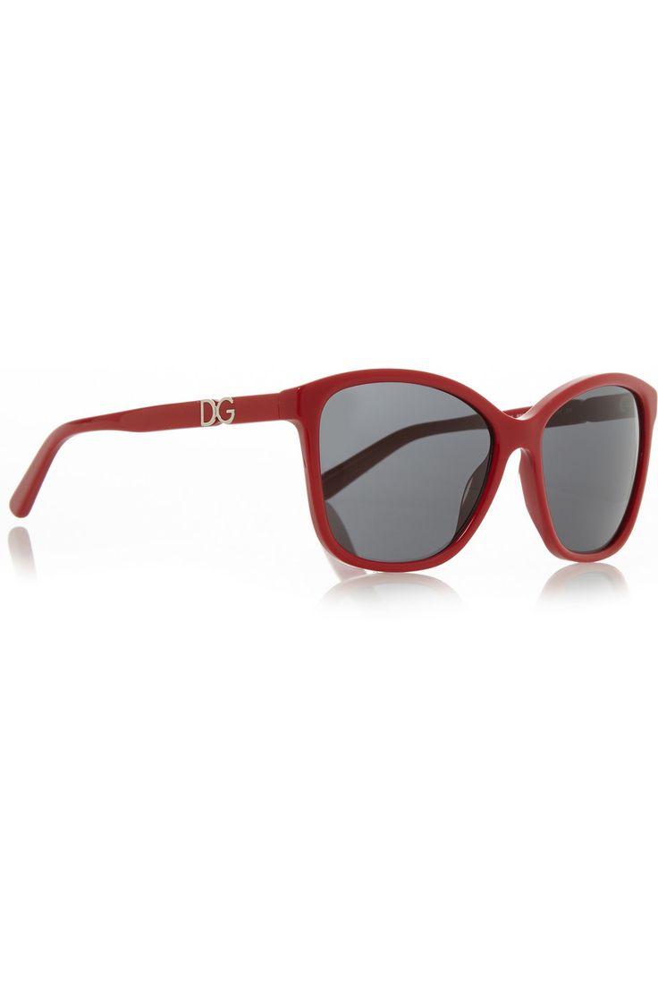 £88.40 - DOLCE & GABBANA D-frame acetate sunglasses