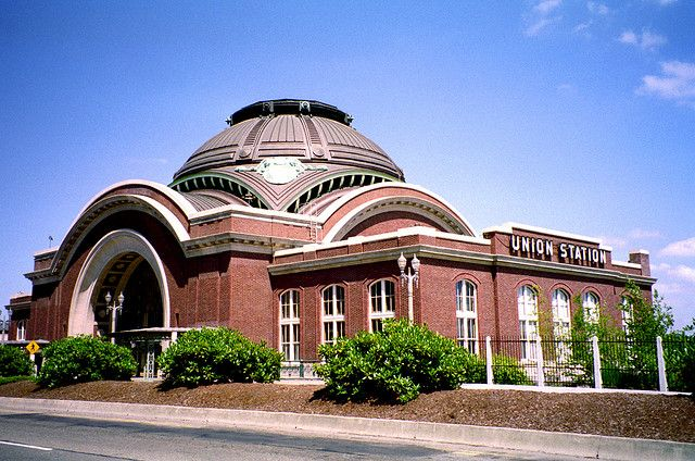 Old Union Depot Railway Station, Now the Superior Court after the Railway Abandoned the Building, Tacoma, Washington State