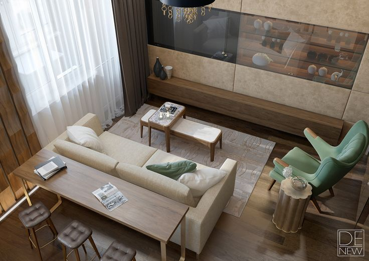 Apartment in Moscow on Behance