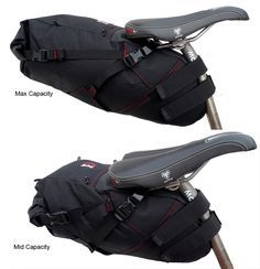 Revelate Designs: Viscacha - A compressible seat bag that can get pretty large. $130