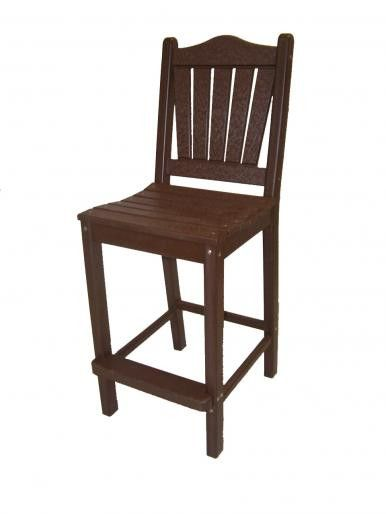 Perfect Choice Outdoor Furniture Traditional Counter Height Chair