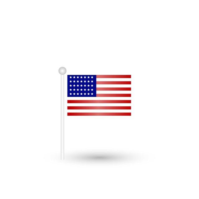 Gambar Bendera Amerika Serikat Amerika Ilustrasi Ikon Vektor Untuk Kemerdekaan Amerika Lambang Diasingkan Amerika Amerika Latar Belakang Png Dan Vektor Untuk Bendera Amerika Bendera Ilustrasi Ikon