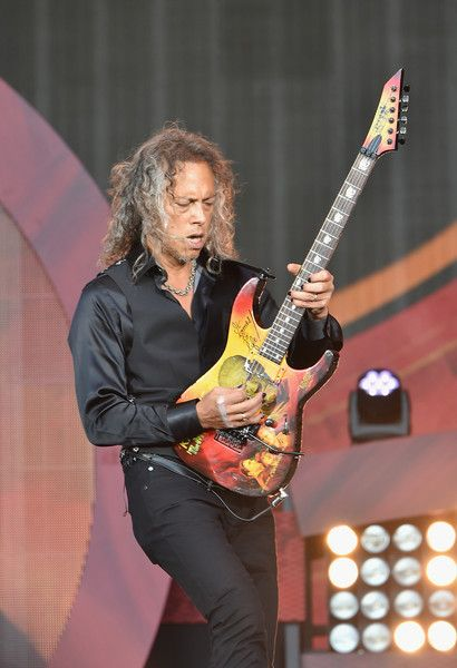 Kirk Hammett Photos Photos - Kirk Hammett of Metallica performs onstage at the 2016 Global Citizen Festival In Central Park To End Extreme Poverty By 2030 at Central Park on September 24, 2016 in New York City. - 2016 Global Citizen Festival in Central Park to End Extreme Poverty by 2030 - Show