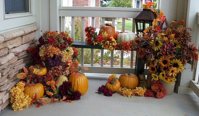 front porch fall 2012 by Just JoLynn, via Flickr