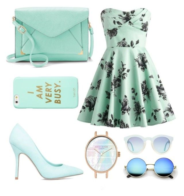 """Untitled #36"" by alberte-bigom-krogstrup on Polyvore featuring ShoeDazzle, Apt. 9 and ban.do"