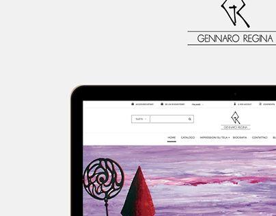 """Check out new work on my @Behance portfolio: """"Gennaro Regina web site"""" http://be.net/gallery/38127569/Gennaro-Regina-web-site"""