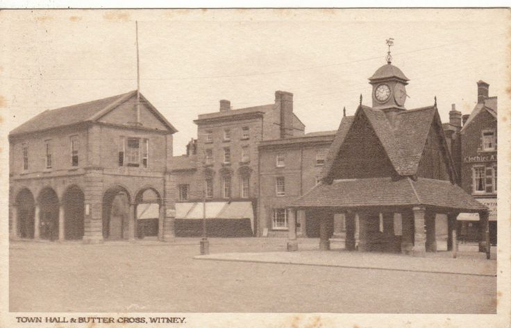 Town Hall & Butter Cross, WITNEY, Oxfordshire | eBay