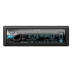 Amazon.com: Kenwood Single DIN In-Dash Bluetooth Car Stereo Receiver: Electronics