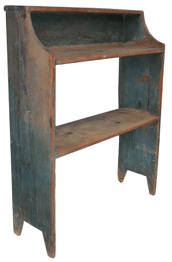 omg, do i loooove these old bucket benches to decorate with!!! and of course, the old blue paint/stain!!!!!