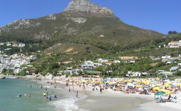 Clifton Beach in Cape Town, South Africa