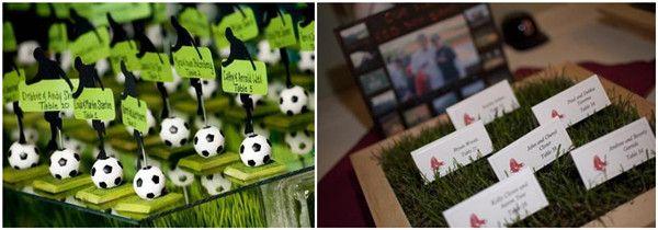 2014 Fußball Thema Hochzeit Inspiration- Hochzeitsfoto, Deko, Hochzeitskarten | Optimale Karten für Verschiedene Anlässe