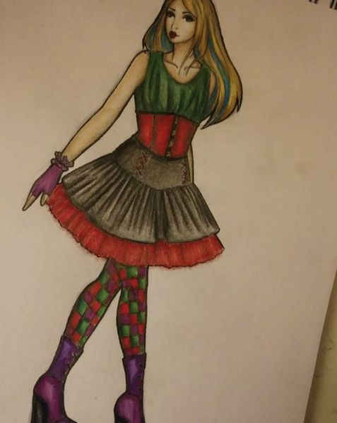 Alyssa's outfit by inori_blackwood on Instagram