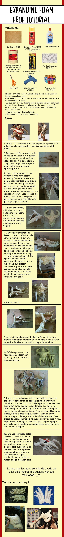 (expanding foam tut, not in English)