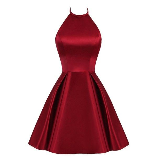 TBGirl Cute Strap Red Homecoming Dresses Mini Short Cocktail Party... ($69) ❤ liked on Polyvore featuring dresses, prom homecoming dresses, red strappy dress, holiday dresses, evening cocktail dresses and red cocktail dress #shortpromdresses