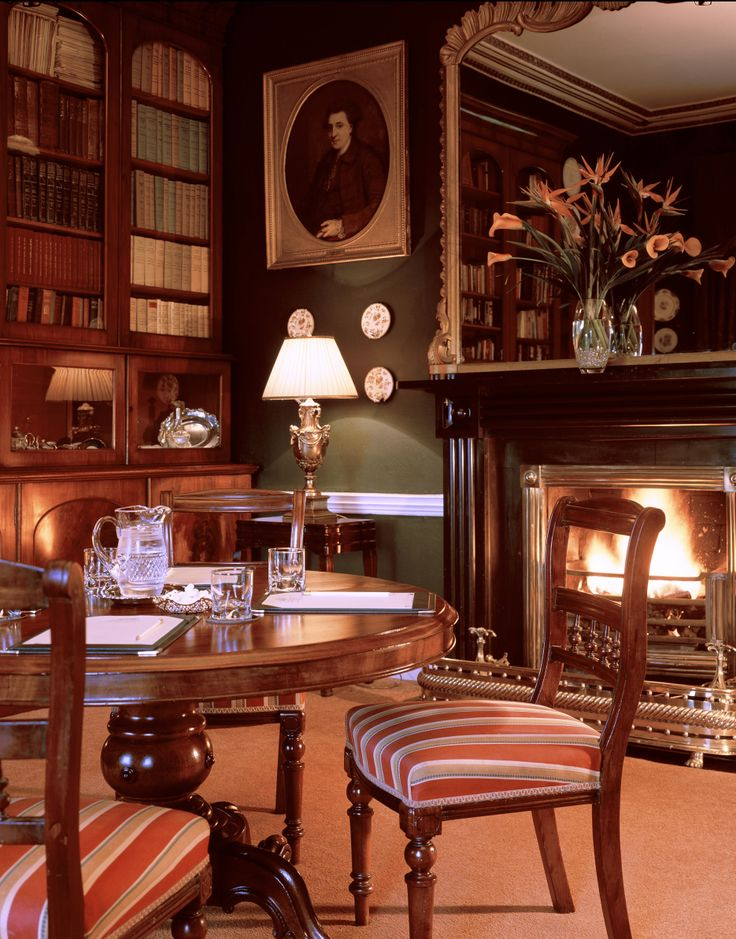 The library at Longueville- meeting room