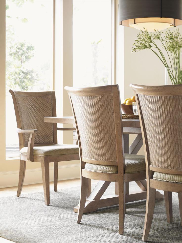 Amazing Lexington Home Brands Los Altos Dining Side Chair   Set Of 2   With Its  Double Woven Split Rattan Back With Graceful Curves Which Sets Off The  Clean Lines ... Part 24