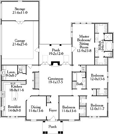 238 best house plans images on Pinterest | Country houses, Dream ...