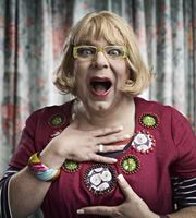 Psychoville. Hattie (Steve Pemberton). Image credit: British Broadcasting Corporation.