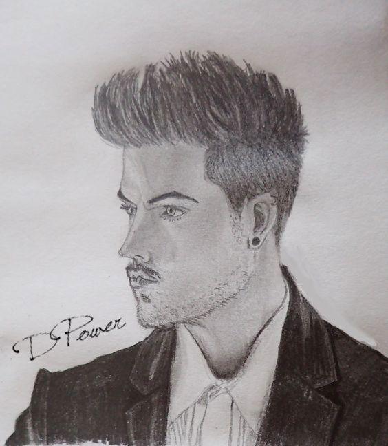 Freehand Adam Lambert -2015