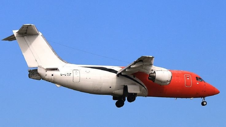 G-OTIF BAe Systems British Aerospace 146-200QT Take-off(With ATC Comms)@...