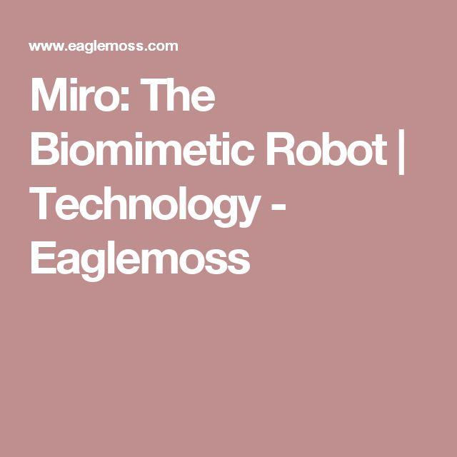 Miro: The Biomimetic Robot | Technology - Eaglemoss