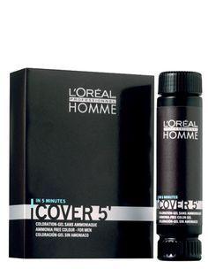 Loreal Homme Cover 5 - Kumral No.7 Erkeklere özel saç boyasıdır. Beyaz saçları doğal rengine dönüştürme özelliğine sahiptir. Amonyaksız içeriğe sahip olup saça asla zarar vermez. Doğru renk seçimi yapıldığı takdirde istenmeyen farklı sonuçlar vermez. Her bir paket içerisinde 3 tüp (3x50 ml) olup, her bir tüp bir uygulama içindir.  Kullanımı kolay ve pratik olup 5 dakika da boyama işlemi tamamlanır.  www.elizehair.com