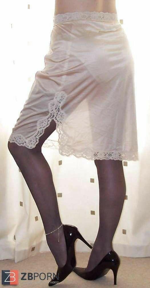 An appreciation of women in petticoats   slips. Silk Slip dc50f50c1
