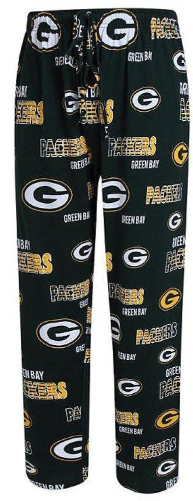 College Concepts Men's NFL Green Bay Packers Sweep Pajama Bottoms Pants #CollegeConcepts #PajamaPants #GreenBayPackers
