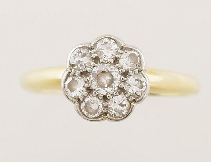 Fantasia White Gold Oval Halo Engagement Ring - UK I 1/2 - US 4 1/2 - EU 48 1/2 tzeGfVo5