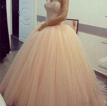 Bola cuadro verdadero del vestido De tul De novia Party Girl Backless para 15 años dulce 16 Vestidos del Quinceanera Coral Vestidos De 15(China (Mainland))