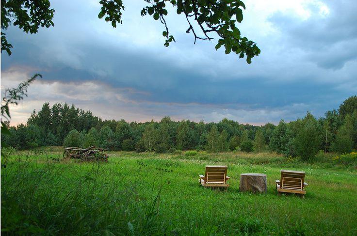 Pensjonat z klimatem nad jeziorem na Mazurach - zdjęcia na zewnątrz.