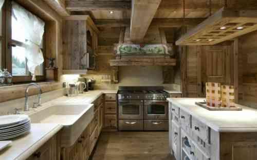 Idées cuisine: focus sur la cuisine chalet moderne | Cucina