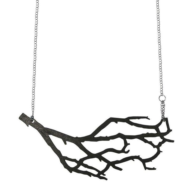 Nouseva Myrsky Necklace, € 43. #statement #necklace #branch