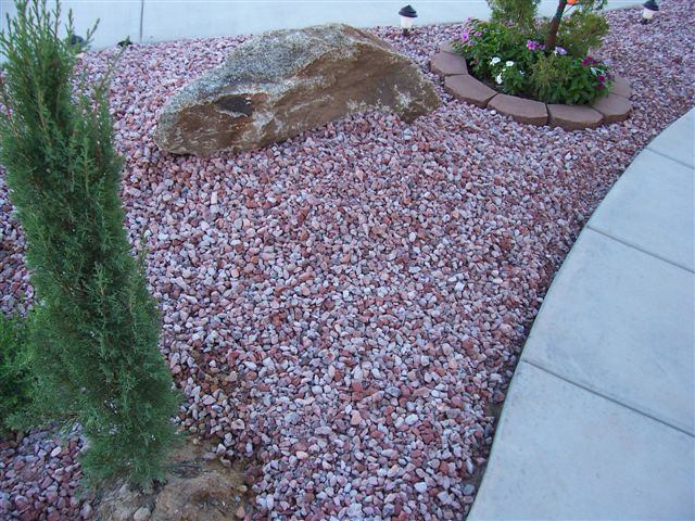 how to clean white rocks in your garden
