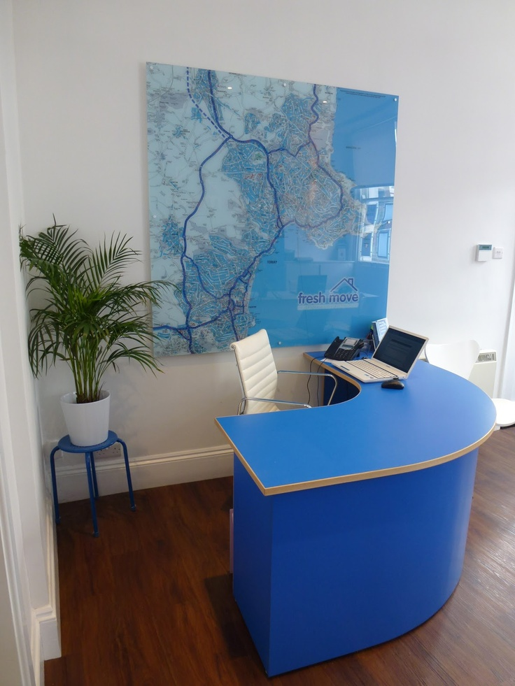 letting agency office design by  HOME RESTYLER