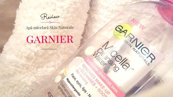 Review: Apă micelară Garnier Skin Naturals