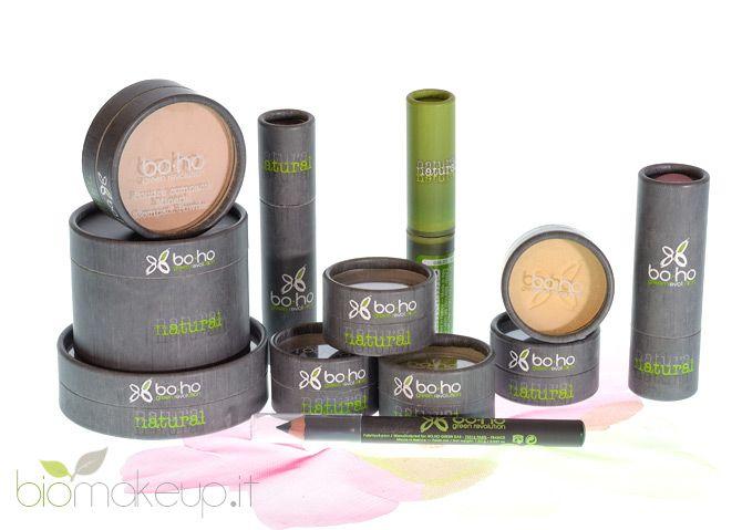 Formulati a partire da oli e cere vegetali, i prodotti di make-up Boho Green Revolution Cosmetics sono economici ed al contempo di ottima qualità.