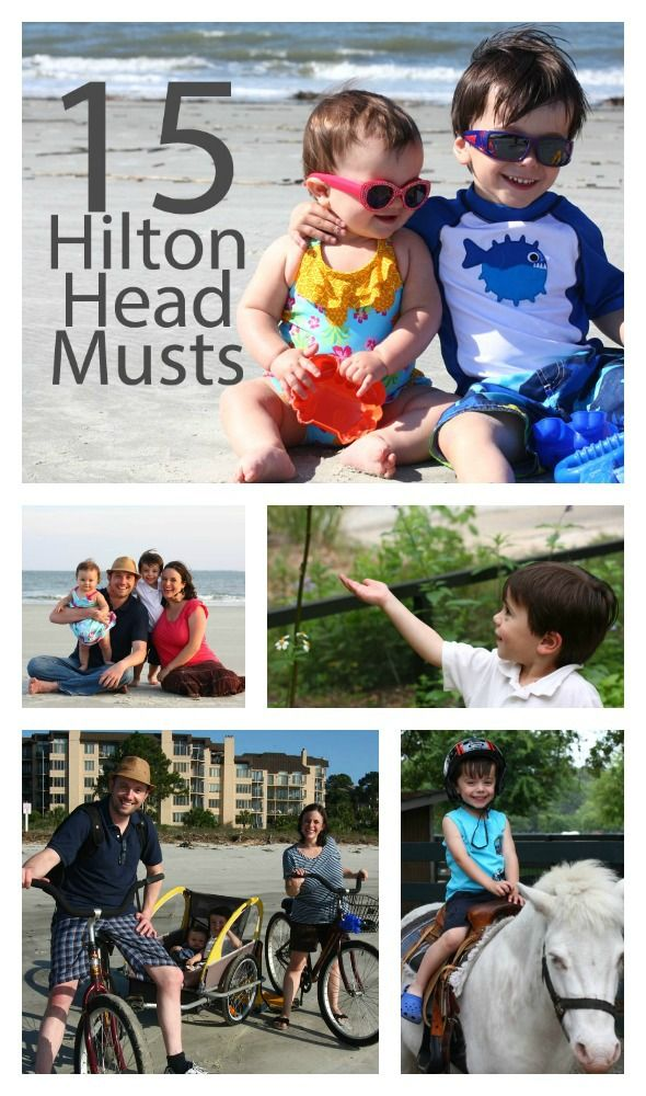 15 Hilton Head Musts - a great list for planning a trip to #HHI --> YES! great round-up by @Jessica Turner