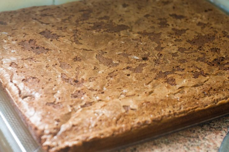 Receta de brownie de chocolate y nueces