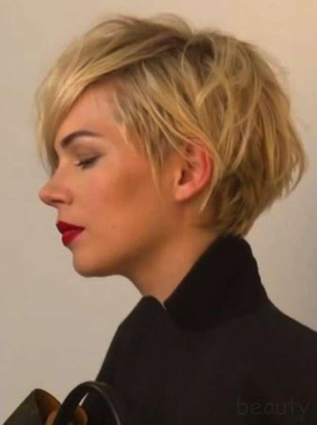 cortes de pelo corto fotos de los modelos pelo corto despeinado