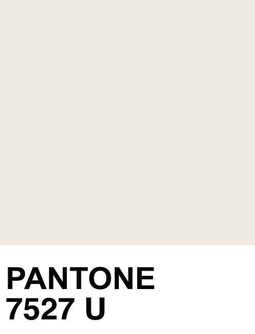 Pantone color 7527 U