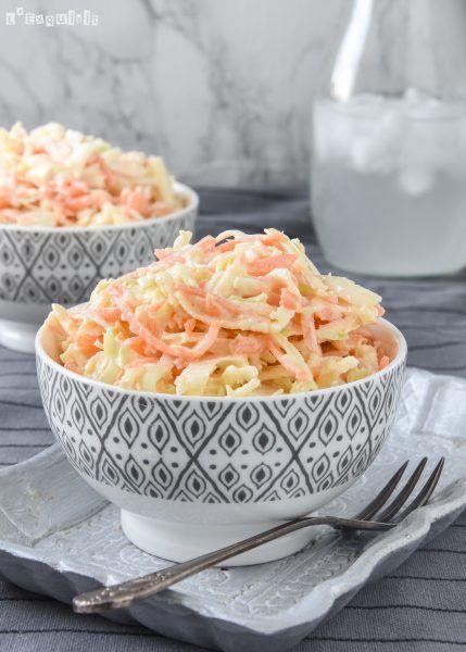 Ensalada de col, zanahoria y manzana - L´Exquisit