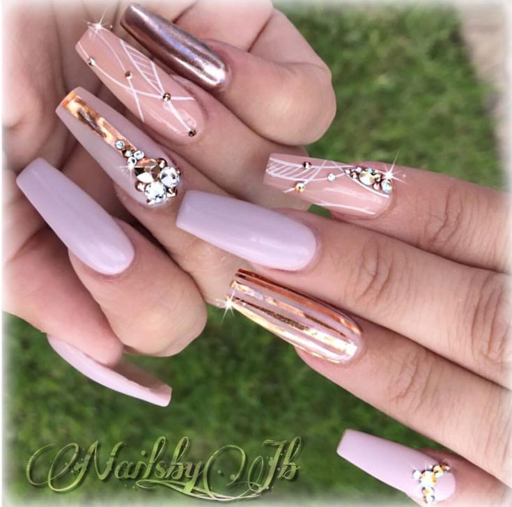 Pinterest Http Rachael Nails Pink Acrylic Nails Fancy Nail Art
