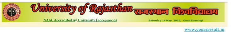 Rajasthan university Result 2016,uniraj BA result 2016,uniraj B,com result 2016, uniraj B,sc result 2016,b,com part 1,2,3 result 2016,b.scpart 1,2,3 result 2016,,B.Apart 1,2,3 result 2016,rajasthan university result 2016,Rajasthan university b.com result 2016,Rajasthan university B.A Result 2016,Rajasthan university B.sc result 2016,result.uniraj.ac.in Rajasthan University result 2016 –dear all aspirants this is amazing news declared by Rajasthan university that …