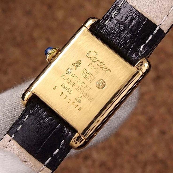 Cartier- Must -De -Cartier- Tank -Argent -Gold -Plated -Ladies- Wrist- Watch #Cartier #CARTIER #Mustdecartier #Must #de #Cartier #Tank #Argent #style #бриллианты #fashion #пусеты #бриллиант #accessories #wedding #diamond #jewelry #diamonds #trendy #колье #luxury #gold #изумруд #watch #women #shopping #золото #шоурум #серьги #шоппинг #cartier #rolex #украшения #кольцо #часы #ring #beautyblogger #taylorswift #daydate #rolex #rolexwatch #rolexdaydate #rosegold #oro #bracelet #bracelets #gold…