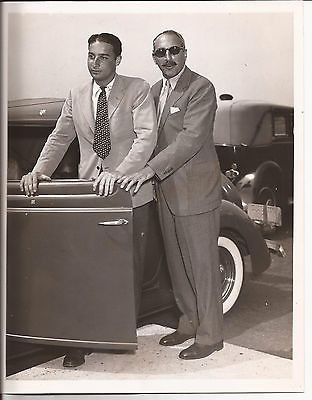 ALFRED A. KNOPF PRESS PHOTO FAMOUS AMERICAN PUBLISHER SON VINTAGE NEW YORK 1930S