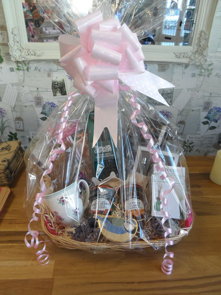 gardening & tea hamper for a special lady