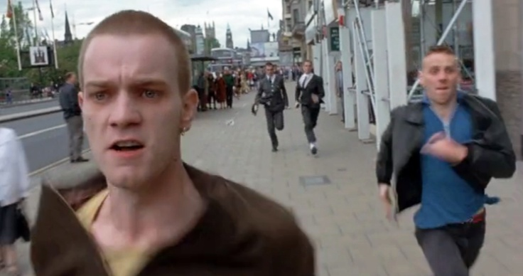 """""""Choose life. Choose a job. Choose a career. Choose a family. Choose a f***ing big television. Choose washing machines, cars, compact-disc players, and electrical tin openers..."""" - #EwanMcGregor #Trainspotting Click for audio."""